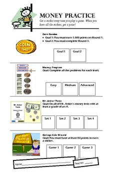 Internet Games: Money Contract