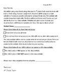 Internet Permission Form