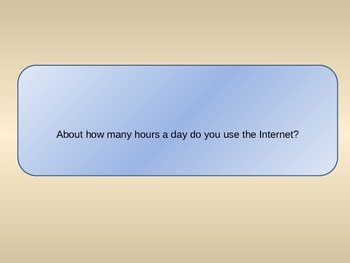 Internet Questions - Chat Class