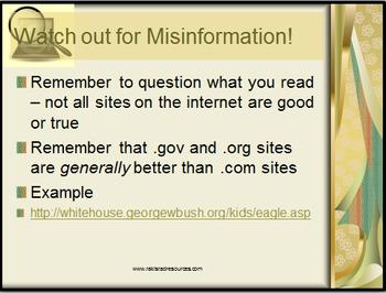 Internet Research Lesson
