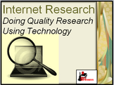 Internet Research Lesson - Distance Learning