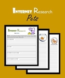 Internet Research:  Pets