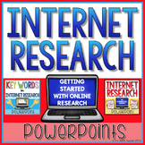 Internet Research Powerpoints Pack