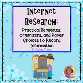 Internet Research Templates