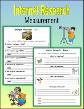 Internet Research on Measurement