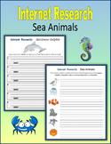 Internet Research on Sea Animals