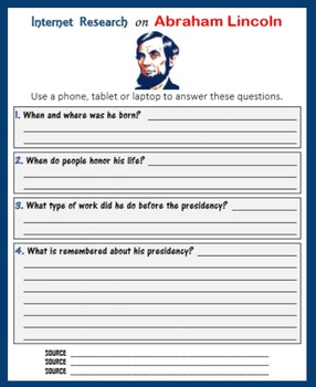 Internet Research on US Presidents