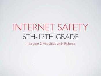 Internet Safety 6th -12th Grade