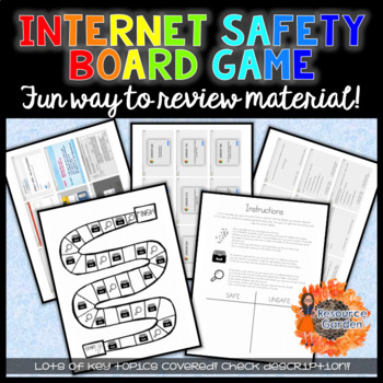 Internet Safety Board Game