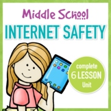 Internet Safety Complete Unit for Middle School