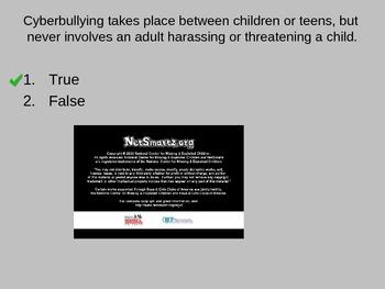 Internet Safety Cyber Bullying Presentation