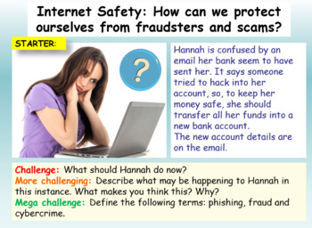 Internet Safety - Cyber Crime