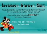Internet Safety FLASH Quiz Game