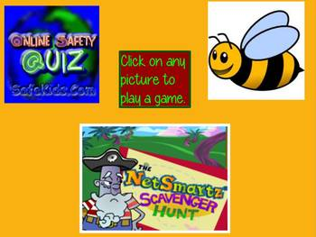 Internet Safety Games Activities