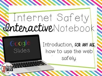 Internet Safety Interactive google slides