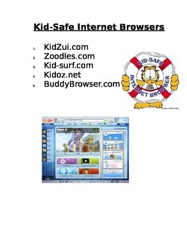 Internet Safety Lesson Plan + Game Questions + Handout