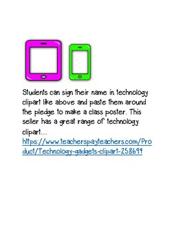 Internet Safety Pledge Poster