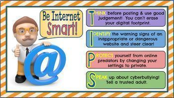 Internet Safety & Digital Citizenship Posters