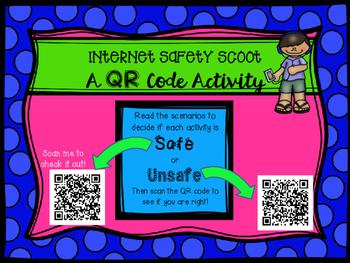 Internet Safety QR Code SCOOT