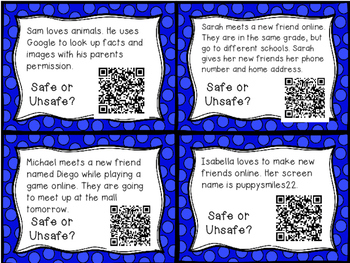 Internet Safety QR Code SCOOT