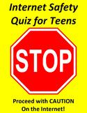 Internet Safety Quiz For Teens