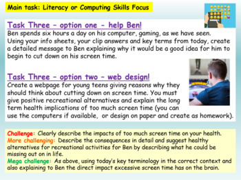 Internet Safety - Screen Time