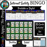 Internet Safety Terms Bingo Game Printable and Digital with Google Apps