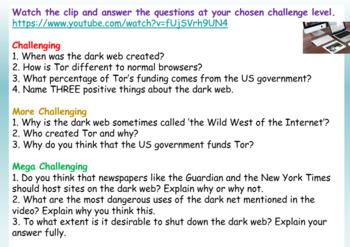 Internet Safety: The Dark Web