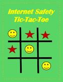 Internet Safety Tic-Tac-Toe Game Digital