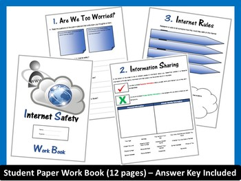 Internet Safety and Digital Citizenship Work Book-(ISTE 2016 Aligned)