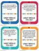 Internet Safety Worksheets and Task Cards