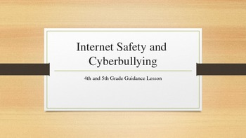 Internet Safety and Cyberbullying Lesson