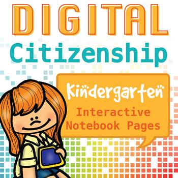 Internet Safety and Digital Citizenship Interactive Notebook - Kindergarten