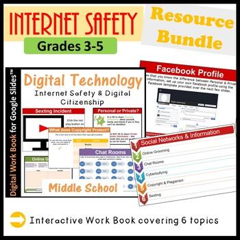 Technology Internet Safety & Digital Citizenship Resource Bundle (ISTE 2016)