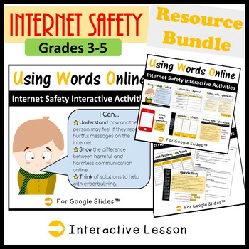 Technology Internet Safety & Digital Citizenship Resource Bundle
