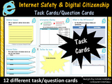Internet Safety and Digital Citizenship Task Cards/Question Cards - Set 1