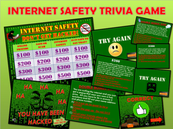 Internet Safety and Digital Citizenship Trivia Game