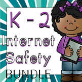 Internet Safety or Digital Citizenship Interactive Notebook Pages K-2 BUNDLE