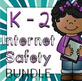 Internet Safety or Digital Citizenship Interactive Notebook Pages K-2 BUNDLE