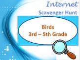 Internet Scavenger Hunt: Birds