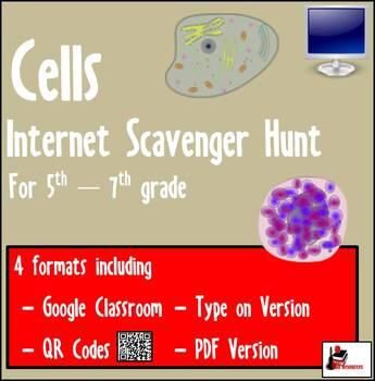 Internet Scavenger Hunt - Fifth Grade & Up - Cells