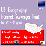 Internet Scavenger Hunt - Geographical Features USA - Dist