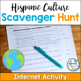 Hispanic Culture Internet Scavenger Hunt