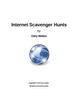 Internet Scavenger Hunts 1
