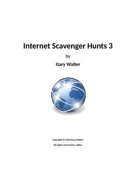 Internet Scavenger Hunts 3