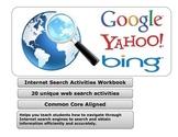 Internet Search Activities Reproducible Workbook - School Site License