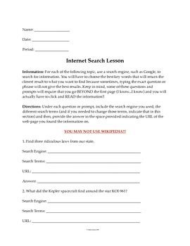 Internet Search Activity #2