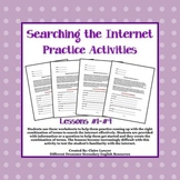 Internet Search Activities #1-4