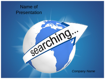 Internet Search PPT Template