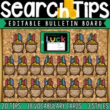 Internet Search Tips and Vocabulary: Digital Citizenship E